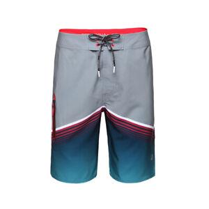 """Rokka&Rolla Men's Swim Trunks Board Shorts 9"""" Inseam Swimwear Bathing Suit"""