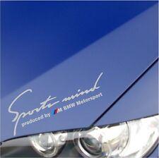 SPORTS MIND M Power BMW M3 M5 M6 E36 E39 E46 E61 E63 E90 DECAL STICKER
