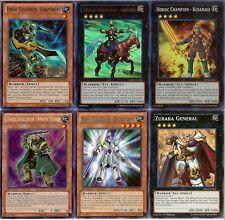 Yugioh Heroic Deck - Champion Gandiva Kusanagi Ambush Soldier Clasp Sword - Lot