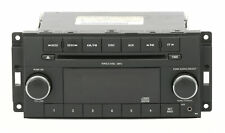 2011-2012 Chrysler Dodge Jeep Radio AMFM mp3 CD w Aux Input P05091222AD Face RES