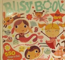 BUSY BOOK FOR GIRLS 550 THINGS TO FIND COUNT 1-10 TEACHING EXPANDING VOCABULARY