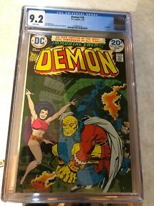 Demon #16 - DC Comics - CGC 9.2 White Pages - Last Issue 1974 - Jack Kirby Story
