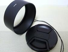 82 mm Metal Camera Lens Hood + 86 mm Cap for Tele Lens 82TC86