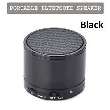 Black Portalble Rechargble Bluetooth Wireless Mini Speaker For Apple iPhone iPad