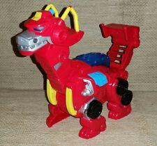 Imaginext Playskool figures Transformer Recue Bots Playset Heatwave Dinosaur