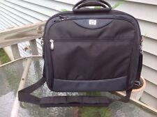 "HP Hewlitt Packard Black Computer Laptop Shoulder Bag Briefcase 16x14x5"" case"