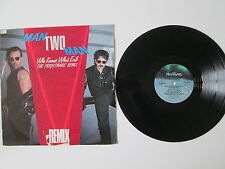MAN TWO MAN - WHO KNOWS WHAT EVIL- The REMIX- 12in Single- LIMITED EDITON