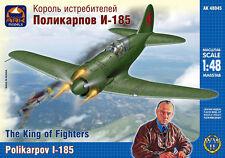 """1/48 Polikarpov I-185 """"The King of Fighters"""" ArkModels 48045"""