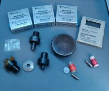 Wilson Rockwell Hardness Anvil, diamond penetrator, ball chuck, tester lot