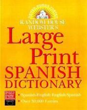 Diccionario Random House Webster's de Español Impresión Grande (para-ExLibrary