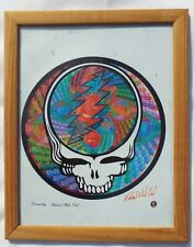 Grateful Dead Art ~ Signed Michael White Owl  Lithograph Framed