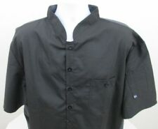Chef Coat Black Size 3Xl Happy Chef Cook Cool, Cook Happy Nwt
