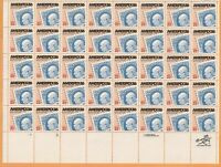 Scott #2145 Ameripex 86 postage Stamp Sheet of 50-22 Cent 1985 release