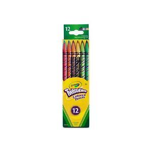 Crayola Twistables Colored Pencils, Assorted Colors 12 ea