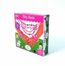Kids Beads Fairy Set with Stickers Galt Toys Creative Gift Children's Craft 5+
