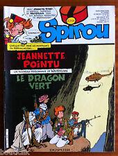 b) SPIROU n°2291;  sans le poster/ Annie Fratellini/ Popeye