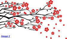 'Tree Branch Blossom Flowers' Wall Art Vinyl Sticker, Wall Decal- HIGH QUALITY