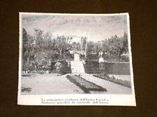 Damasco nel 1920 La principesca residenza dell'Emiro Faysal con sentinelle Siria