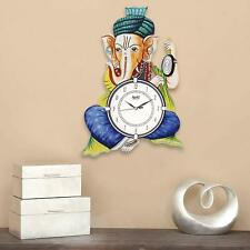 wall clocks CIRCADIAN Ajanta Safa Ganesha Living Room Office Multicolour
