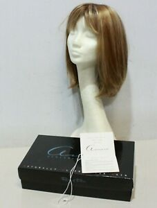 MADAYLN Wig by Rene of Paris Amour NUTMEG Blonde Highlight Mid Length £269 - 232