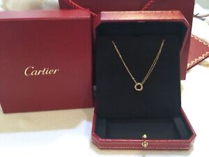 100% Authentic cartier trinity necklace 16 inches