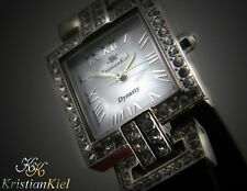 Kristian Kiel Dynasty Designer Women's Jeweled Watch KK7109 W/ Swarovski Crystal
