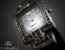 Kristian Kiel Dynasty Designer Women's Jeweled Watch KK7109 W/ Swarovski Crystal