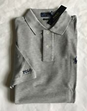 $85 NWT Mens Polo Ralph Lauren Classic Fit Mesh Shirt Spring Heather Gray XXL