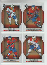 18/19 OPC Coast to Coast Montreal Canadiens 4 cards - Gallagher Tatar Domi Weber