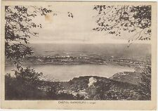 CASTEL GANDOLFO - LAGO (ROMA) 1937