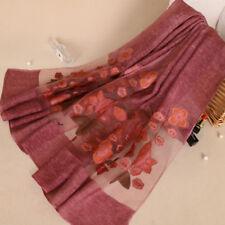 Écharpes et châles hijabs à motif Floral polyester pour femme