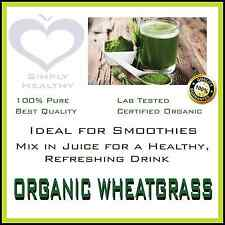 ORGANIC WHEAT GRASS 100g POWDER CERTIFIED  PREMIUM QUALITY AVAILABLE PROMOTION