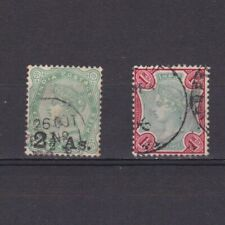 INDIA 1891-1892, Sc# 47-49, part set, 'Queen Victoria', Used