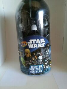 NEW STAR WARS DARTH VADER MIGHTY BEANZ TIN  CONTAINER W/ TWO EXCLUSIVE BEANZS
