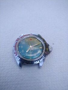 Russische UDSSR Herren Armbanduhr, Vostok, mechanisch, Handaufzug