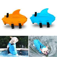 Dog Life Jacket Pet Safety Swimming Shark Float Adjustable Buoyancy Aid Vest Hot