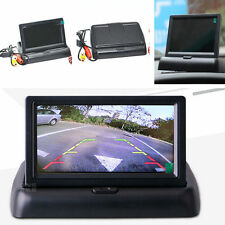 """Car Auto 4.3"""" Foldable Digital HD TFT LCD Color Monitor Screen Reverse Rearview"""