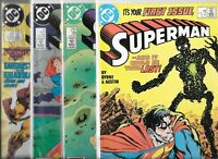 Superman #1, #18, #23 & #27   Lot of 4 (1987/1989, DC Comics)