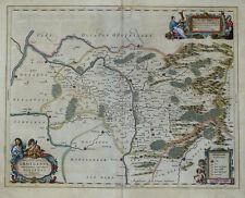 POLEN SCHLESIEN SILESIAE GROTGANUS GROTTKAU NEISSE SCULTETUS JANSSONIUS 1645