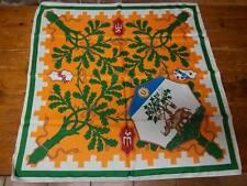 PALIO DI SIENA - Fazzoletto Contrada SELVA 80 x 80 NUOVO - foulard scarf new!