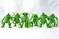 Lizardmen Warriors 6 Fantasy Figures 54 mm Plastic Toy Soldiers Tehnolog New