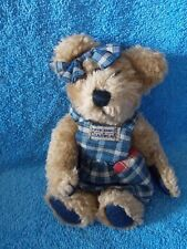 Boyds Bear Clementine J B Bean Series Plaid Dress