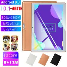 "10.1"" Tablet Pc Hd 8GB+128GB Android 8.0 3G 10-core Google Wifi Gps Dual Câmera"