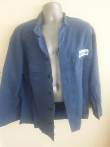 "Ex-rental Welding jacket + bib&braces FR size M 42"" chest, 37"" waist #1009-1010"