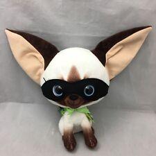 "Skippy Jon Jones Chihuahua Siamese Cat Black Mask Kohl's Plush 12"" Toy Lovey"