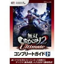 Warriors Orochi 3 Ultimate complete guide book gekan / PS3 / PS Vita