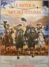 LE RETOUR DES MOUSQUETAIRES Affiche Cinéma / Movie Poster OLIVER REED