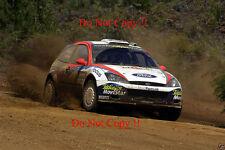 Colin McRae. FORD FOCUS RS WRC 02 RALLY Australiano fotografia 2002 1