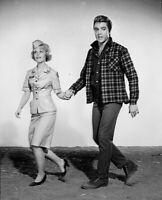 Elvis Presley 1964 Vintage Press Photo Kissin Cousins MGM Promo Date Stamp Snipe