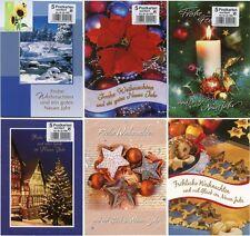 100 Weihnachtskarten Gruskarten Weihnachten Postkarten 221005 TA